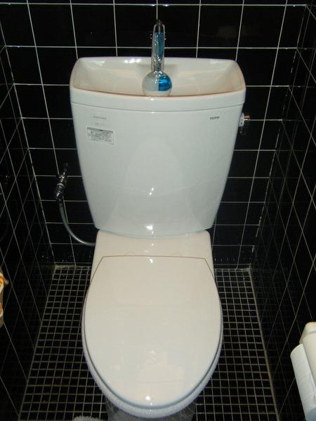 今風の節水トイレに