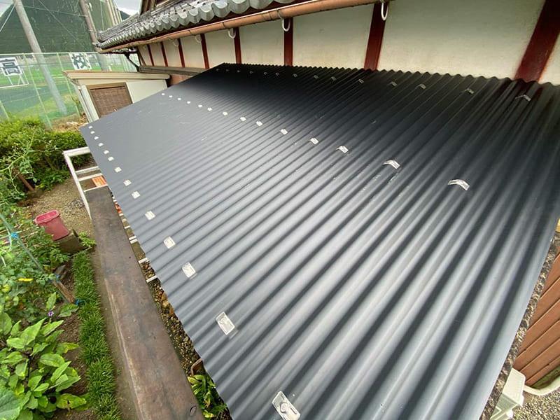 屋根をきれいに
