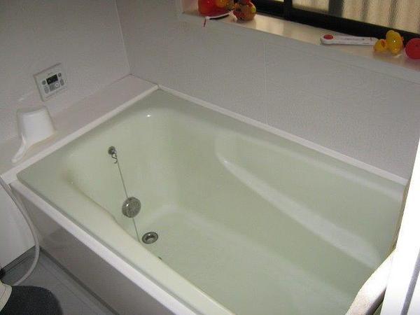 ステップ付きの浴槽