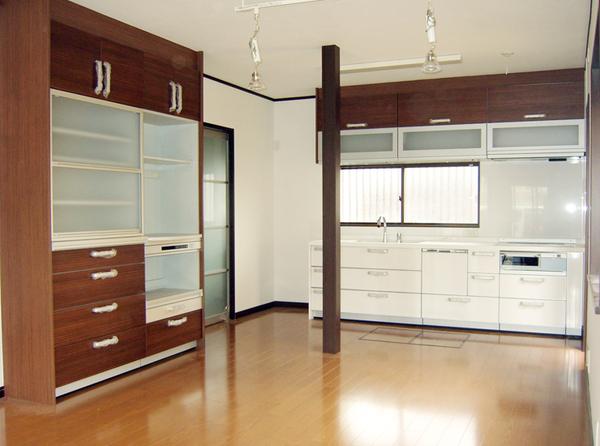 新しい設備と収納の充実で広がった快適空間