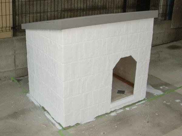 犬小屋 外壁