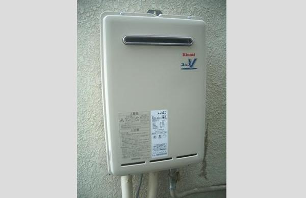 給湯専用タイプの給湯器を交換のリフォーム事例