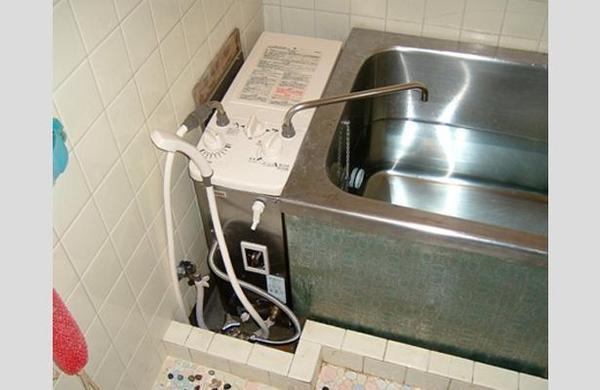 シャワーの壊れたバランス釜を交換 のリフォーム事例