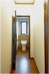 バリアフリーになったトイレ