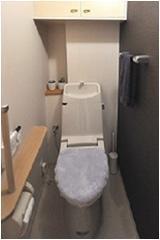 落ち着いた印象のトイレ【トイレ】