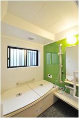 開放的な浴室【バス】