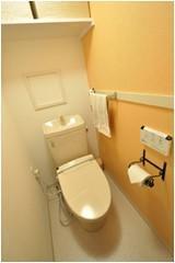 清潔感のあるトイレ【トイレ】