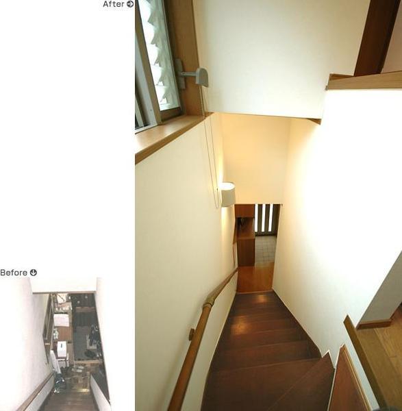 ライフスタイルに合わせてリフォームを実施【階段】