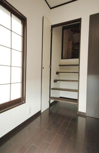 隠し扉【階段】