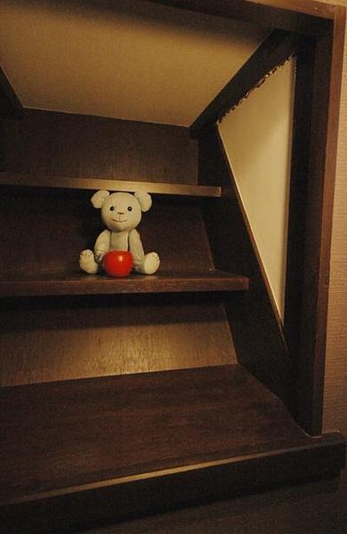 階段を飾り棚へ再利用【その他】