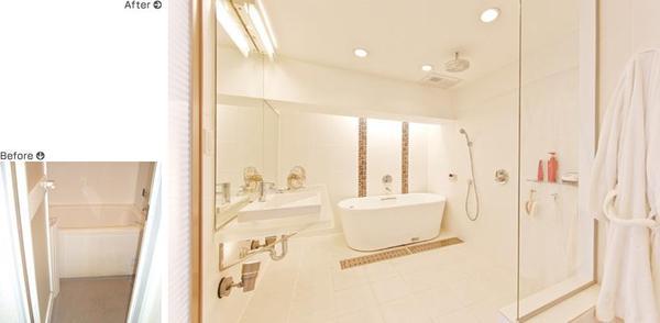 素材と設備にこだわった浴室【バス】