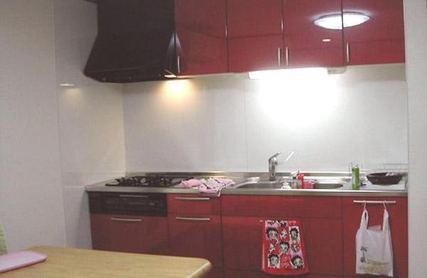 増築によって広くなったキッチン【キッチン】