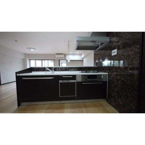 システムキッチン YAMAHAベリー 扉 天然木手塗りグレード マットオーク食器棚
