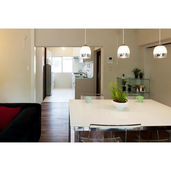 広々とした開放的なキッチン