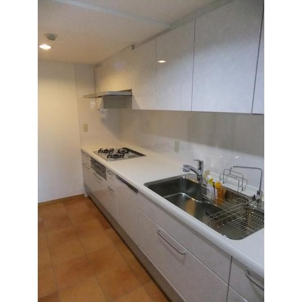 クリンレディ 独立型のI型キッチンを採用。
