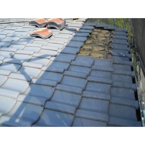 軽量瓦の屋根