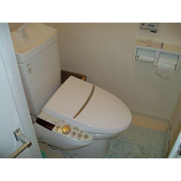 リラックスできるトイレ