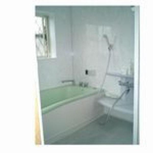 増築して広い浴室に