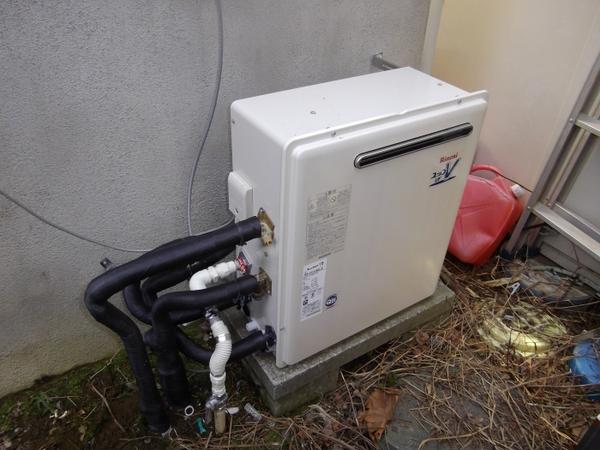 電気温水器からガス給湯器に交換