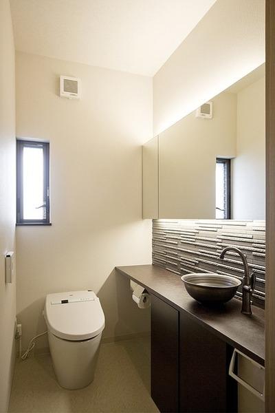 雰囲気良く、快適なトイレ。