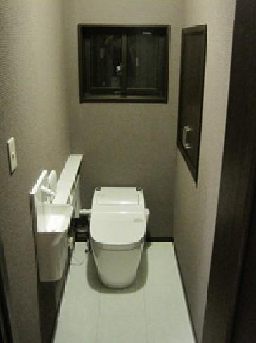 お手入れのしやすいトイレ【トイレ】