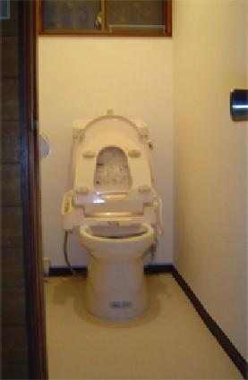 あかるくなったトイレ【トイレ】