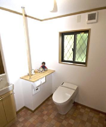 ゆったりした快適なトイレ【トイレ】