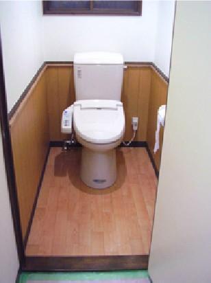 あたたかな洋式トイレ【トイレ】
