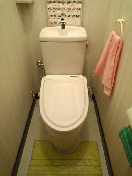 今時のトイレはエコ楽があたりまえ