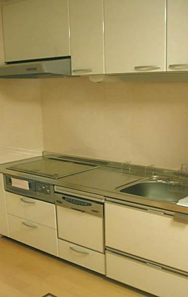 システムキッチンで使い勝手向上【キッチン】