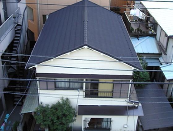 きれいで軽量化された屋根【屋根】