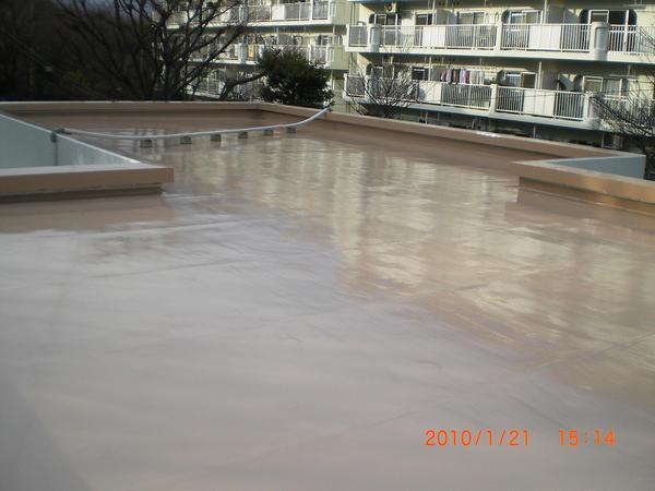 屋上部分のカラーリング【屋根】