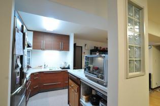 空間を最大利用したL型キッチン