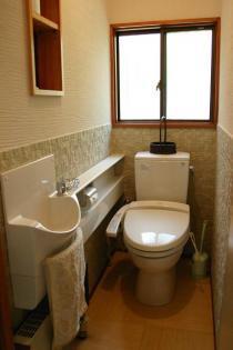自然の香りが漂うトイレ
