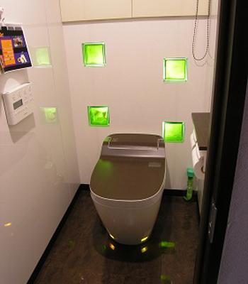 まさにオンリーワンのトイレ空間