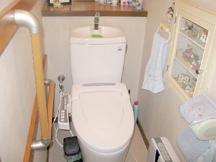使いやすさもよくなり快適なトイレ