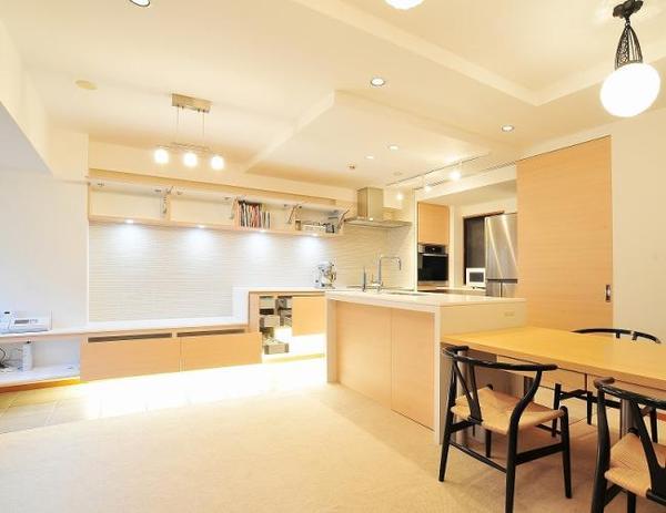 上質空間を演出するキッチン