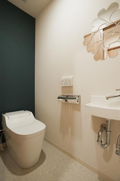 可愛らしいトイレ