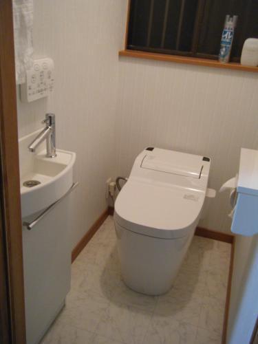 清潔感あふれるトイレへ