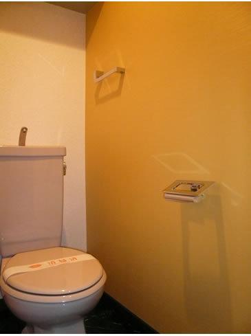 ちょっとした工夫で清潔感のあるトイレに
