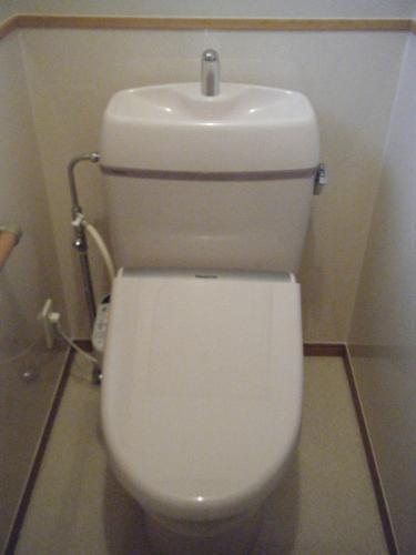 清潔感ある洋式トイレ