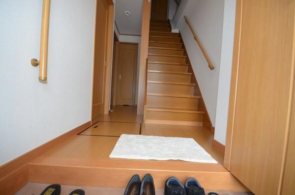 ご要望通りに納まった階段