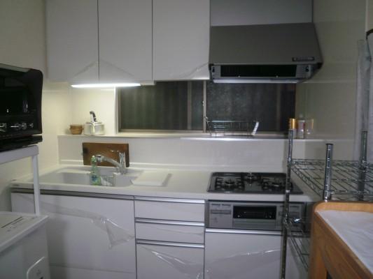 機能的に作り替えられたキッチン