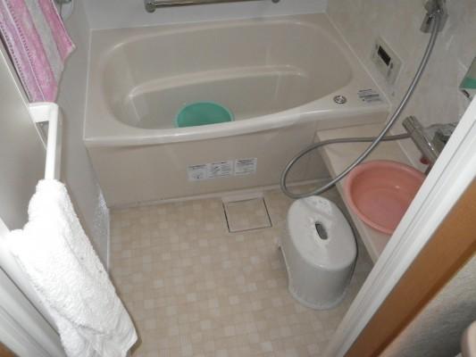 清潔力がアップした浴室