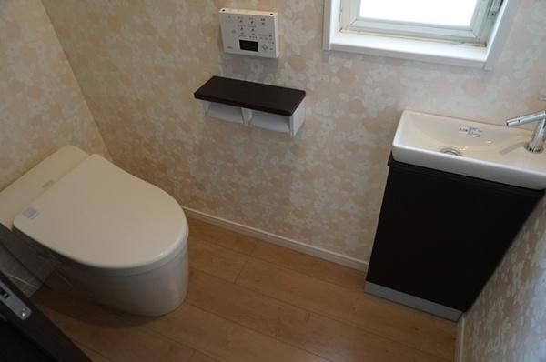 清潔感のあるトイレ空間を実現