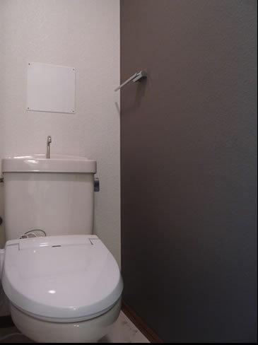 スタンダードな清潔トイレ