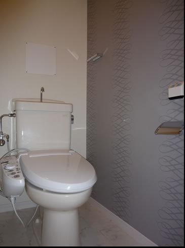 素敵な壁紙トイレ
