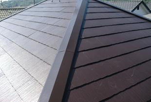 艶のある屋根で新築のような住まいに