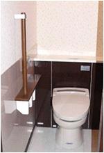 2方向から入れるトイレ
