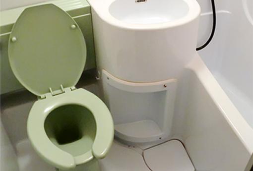 清潔感を演出するトイレ塗装